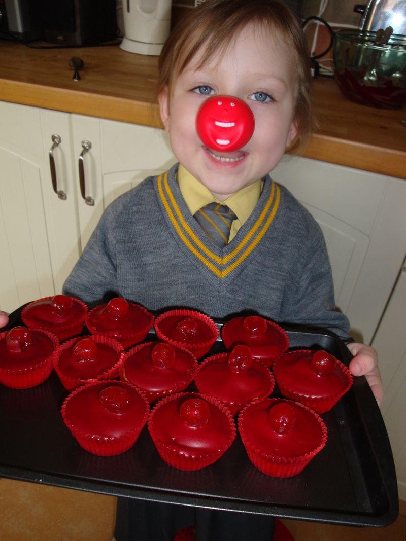 Red nose chef